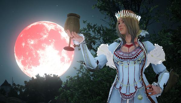 黒い砂漠 光の女王 アバター ヴァルキリー