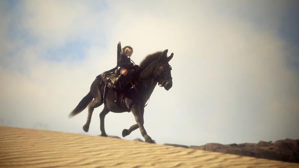 黒い砂漠 シャイ ロバ 砂漠
