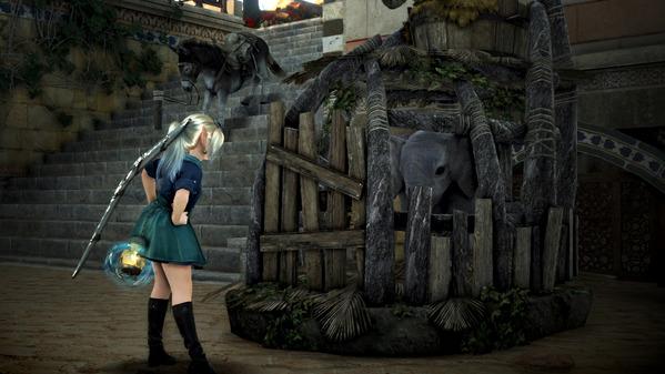 黒い砂漠 シャカトゥの別荘 荷車象