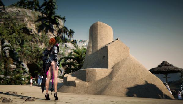 黒い砂漠 テルミアンウォーターパーク 灯台