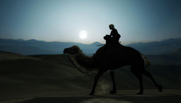黒い砂漠 ラクダ バレンシア砂漠