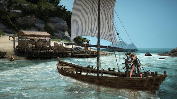 黒い砂漠 漁船 レマ島