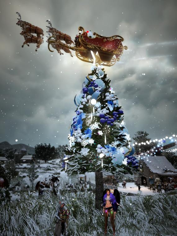 黒い砂漠 クリスマスイベント 古代クロンの木