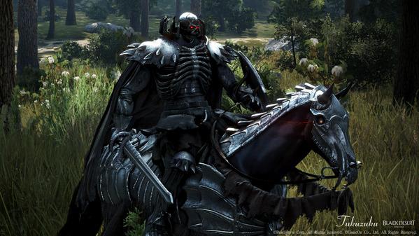 黒い砂漠 ベルセルク [EV]異世界からの訪問者たち 髑髏の騎士