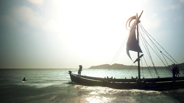 黒い砂漠 アレハザ村 漁船 釣り