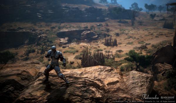 黒い砂漠 格闘家 タフタル平野