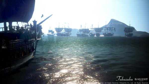 黒い砂漠 オーキルアの目 宝箱狩り重帆船ツアー21
