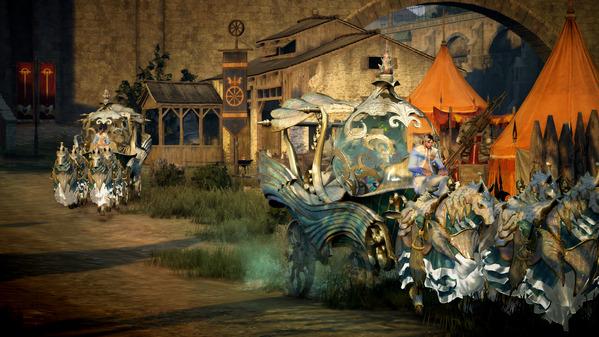 黒い砂漠 テルミアン馬車