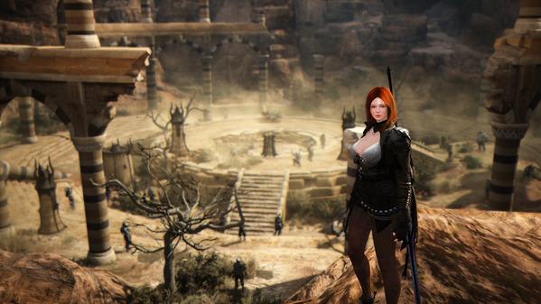 黒い砂漠 ダークナイト カドリー廃墟