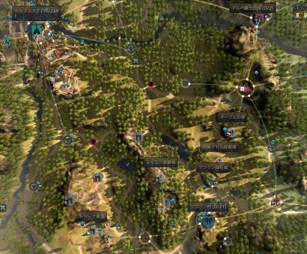 ケプラン村 放棄された採掘場