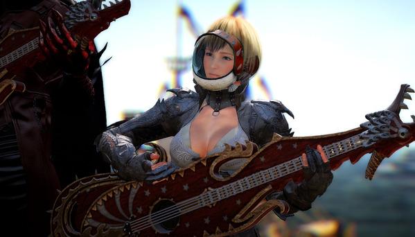 黒い砂漠 ヴァルキリー ガニエギター