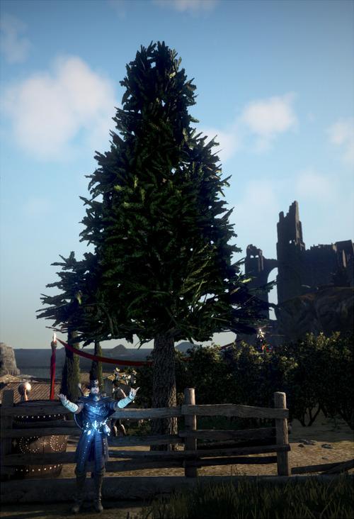 黒い砂漠 クリスマス 古代クロンの木