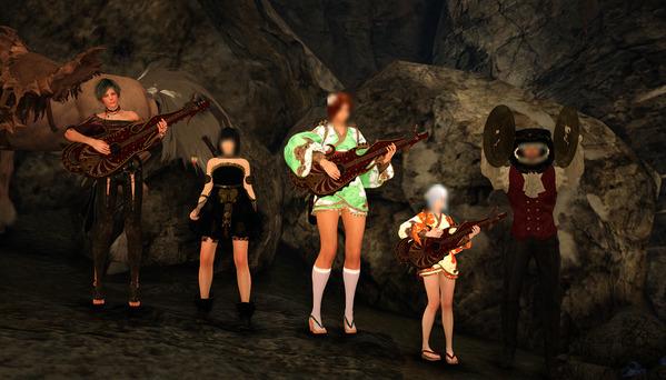 黒い砂漠 楽器演奏