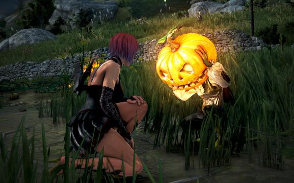 黒い砂漠 いたずらなかぼちゃのオバケ