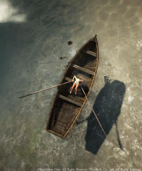 黒い砂漠 渡し舟