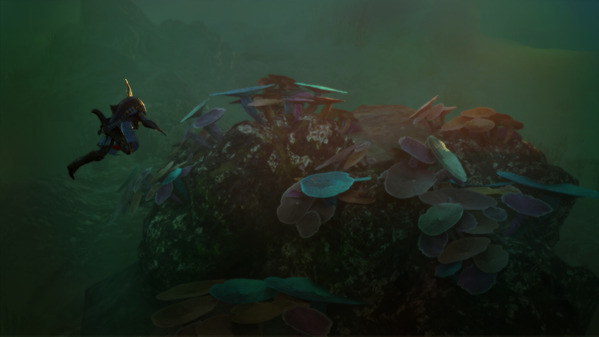 黒い砂漠 あの深い海に 珊瑚の欠片 採集