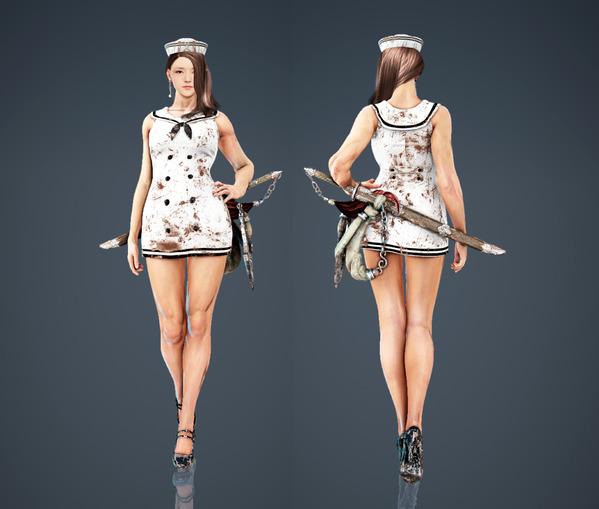 Black Desert Online Lahn Marine Romance Fashion