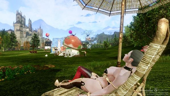 ArcheAge エルフ 魅惑の妖魔アバター