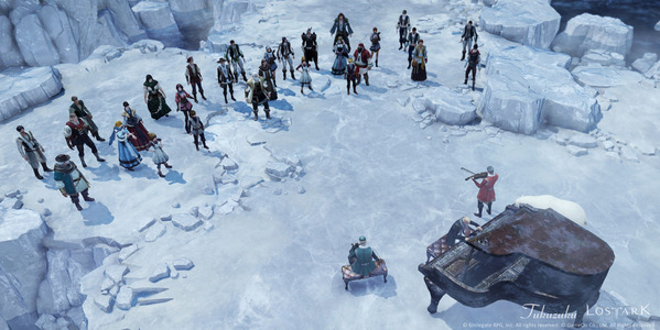 LostArk 砕けた氷河の島
