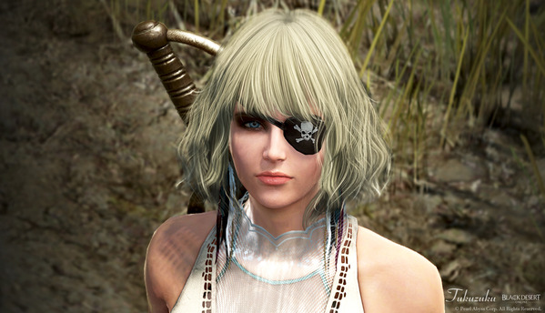 黒い砂漠 コルセア ココ衣装 海賊眼帯