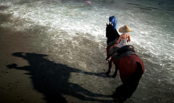 黒い砂漠 ヴァルキリー フレイヤ水着 ココ衣装