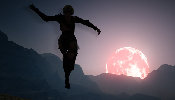黒い砂漠 ハロウィン 赤い月