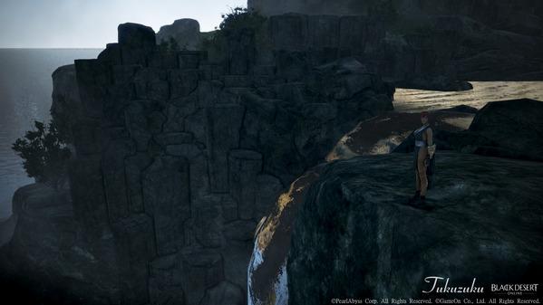 黒い砂漠 カラスの巣 滝