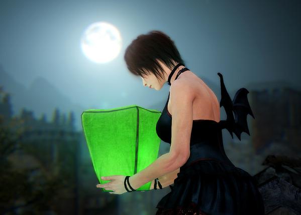 黒い砂漠 祈願の天灯
