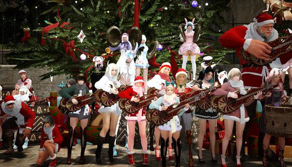 黒い砂漠 クリスマス撮影会09