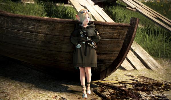 黒い砂漠 シャイ どきどきコレクター衣装