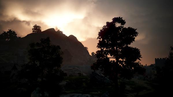 黒い砂漠 ハイデル 夕陽