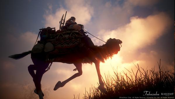 黒い砂漠 ガーディアン ラクダ