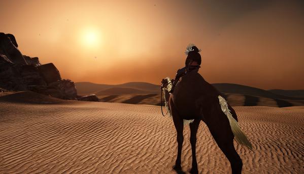 黒い砂漠 バレンシア砂漠 ラクダ