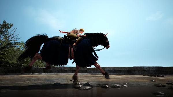 黒い砂漠 ソーサレス 6世代馬