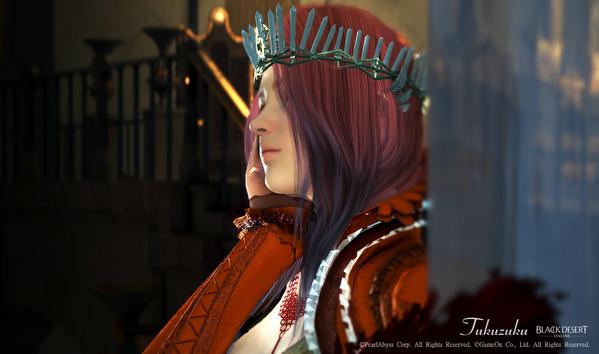 黒い砂漠 ヴァルキリー 光の女王アバター 染色