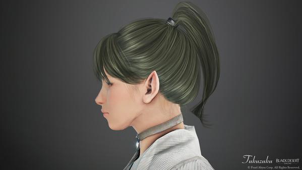 黒い砂漠 レンジャー 新しい髪型