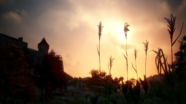 黒い砂漠 ハイデル城 夕陽