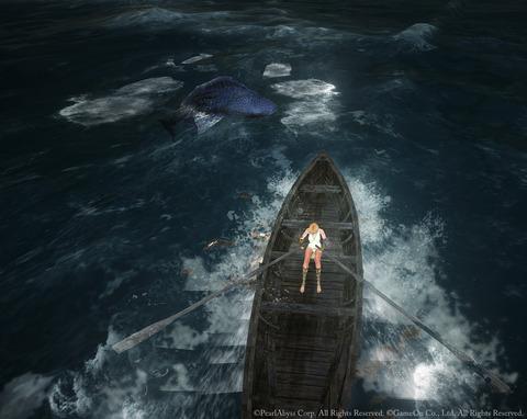 黒い砂漠 渡し舟 ムントンクジラ
