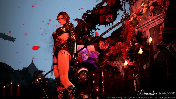 黒い砂漠 ソーサレス フォールンガルザル ハロウィン装飾