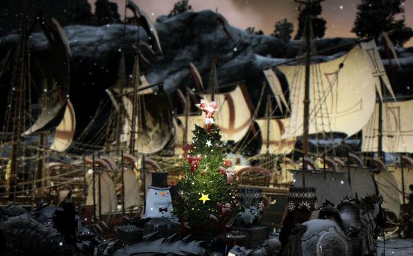 黒い砂漠 クリスマス