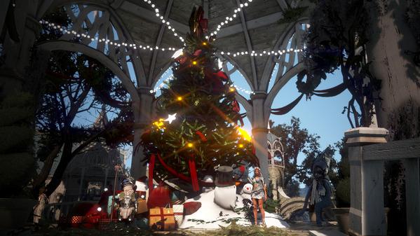 黒い砂漠 首都グラナ クリスマス装飾