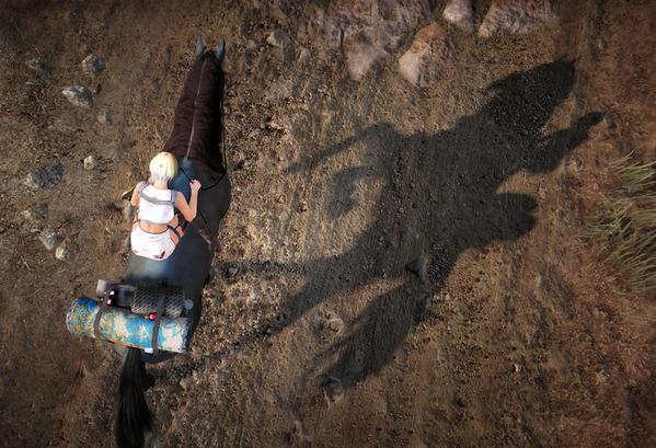 BlackDesert エフェリアマリーナ 馬