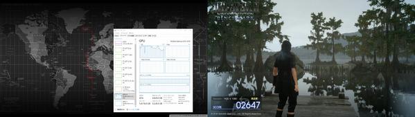 FFXVベンチマーク1070+710