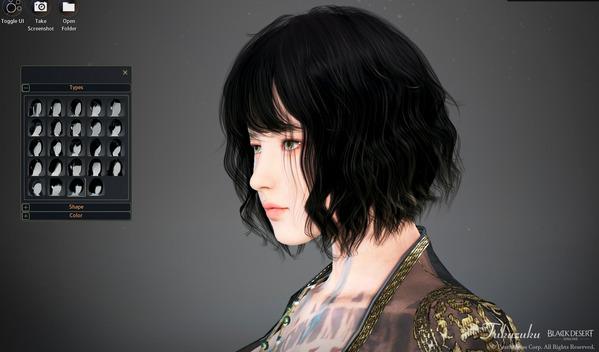 黒い砂漠 ツバキ 新髪型