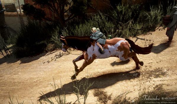 黒い砂漠 シャイ 馬