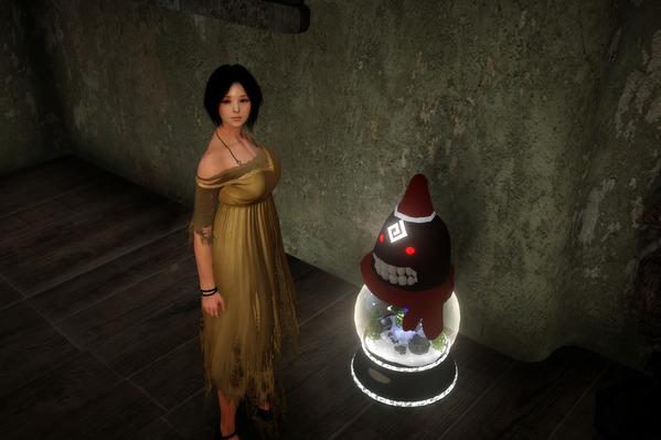 黒い砂漠 クリスマス闇の精霊ボール ファントムブライド