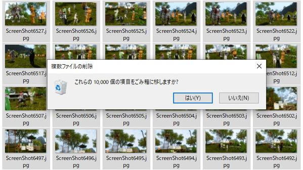 ArcheAge スクリーンショット限界 10000枚