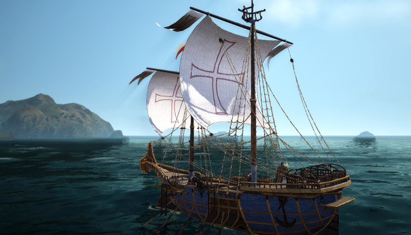 黒い砂漠 エフェリア帆船