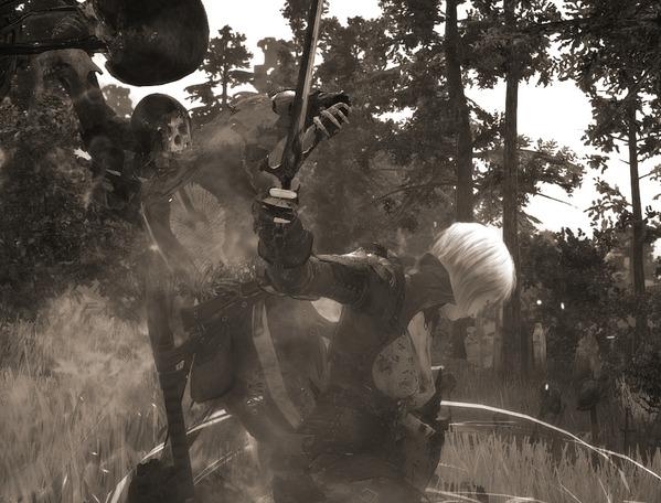 BlackDesert Valkyrie 兵の墓