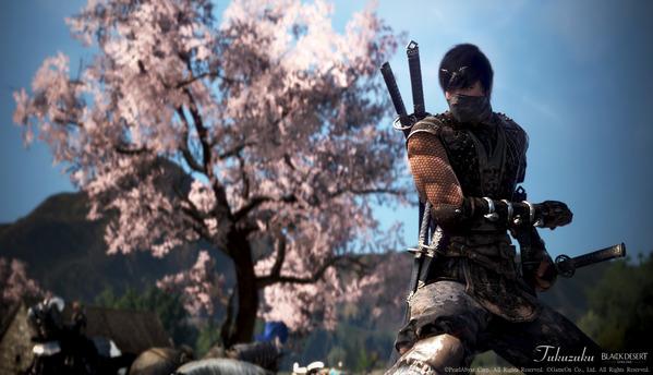 黒い砂漠 ニンジャ 桜